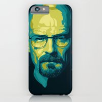 iPhone & iPod Case featuring Breaking Bad Walter White by Ciaran Monaghan Art