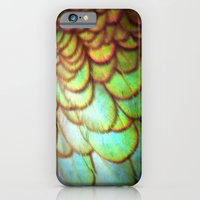 iPhone & iPod Case featuring duck feathers by Krista Glavich