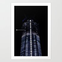 Manhattan Skyline Series 006 Art Print
