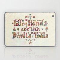 Devil's Tools Laptop & iPad Skin