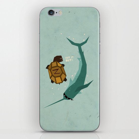 T is for Turtle iPhone & iPod Skin