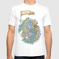 Huzzah! Mens Fitted Tee White SMALL