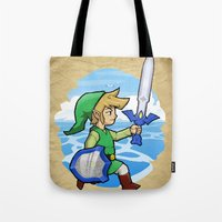 Link, The Wind Waker Tote Bag