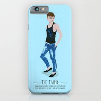 iPhone & iPod Case featuring The Twink - A Poster Guide to Gay Stereotypes by Paul Tuller