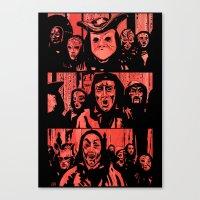 Eyes Wide Shut #2 Canvas Print