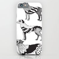 iPhone & iPod Case featuring Andersen dogs by Sára Szabó