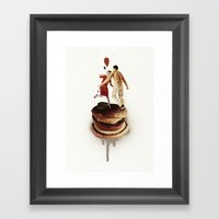 These Burgers Are Crazy … Framed Art Print
