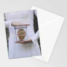 Doll in a jar Stationery Cards