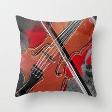 Music !  Throw Pillow
