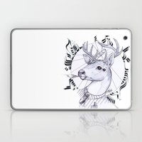 Deer in Dress Code  Laptop & iPad Skin