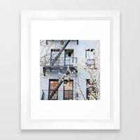 New York City Architecture Photography, New York Art, Brooklyn Prints, NYC Wall Art, Urban Nature Pr Framed Art Print