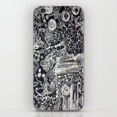 White/Black #2  iPhone & iPod Skin