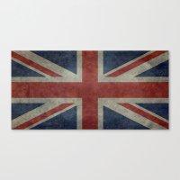 Union Jack (1:2 Version) Canvas Print