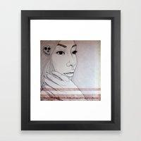 Takes Strength To Be Gen… Framed Art Print