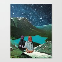 CLAIRVOYANCE Canvas Print