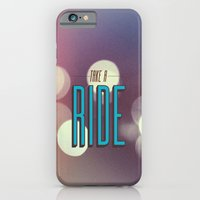 iPhone & iPod Case featuring Take A Ride by Galaxy Eyes