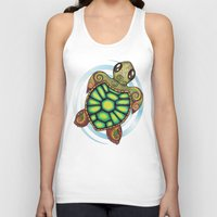 Baby Sea Turtle Unisex Tank Top