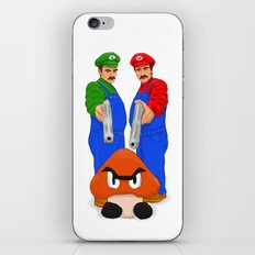 Super Bundock Bros iPhone & iPod Skin
