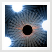 Black Hole Sun Art Print