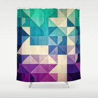 Shower Curtain featuring Pyrply by Spires