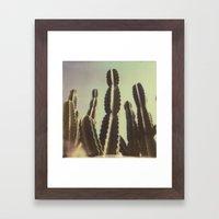 Cactus III Framed Art Print
