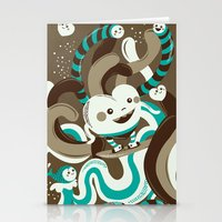 Heart Surfing Stationery Cards