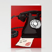 Late Call  Stationery Cards