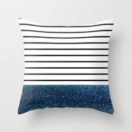 MaRINiera With Night Blu… Throw Pillow