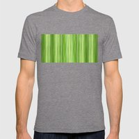 Ambient 3 In Lime Green Mens Fitted Tee Tri-Grey SMALL