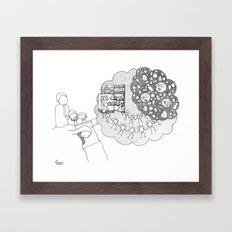 Oh breakfast! Framed Art Print