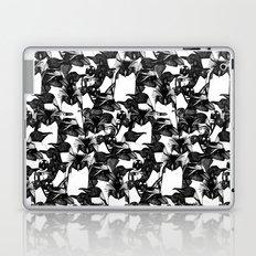just penguins black white Laptop & iPad Skin