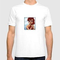Ariel Mens Fitted Tee White SMALL