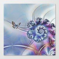 Butterfly heaven Canvas Print