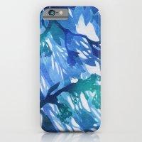 Morning Blossoms 2 - Blue Variation iPhone 6 Slim Case