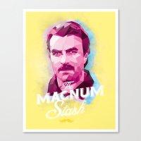The Magnum Canvas Print
