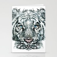 The White Tiger (Classic… Stationery Cards