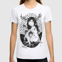 tree lady Womens Fitted Tee Ash Grey SMALL