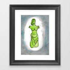 Precious Venus Framed Art Print