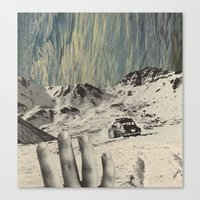 feel Canvas Print