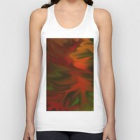 Flaming Red Unisex Tank Top