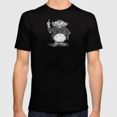 THE KNOWITOWL Mens Fitted Tee Black SMALL