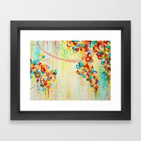 SUMMER IN BLOOM - Beauti… Framed Art Print