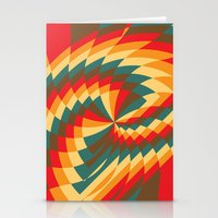 Half Circle (Available I… Stationery Cards