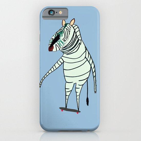 Zebra Dude iPhone & iPod Case