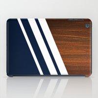 Wooden Navy iPad Case
