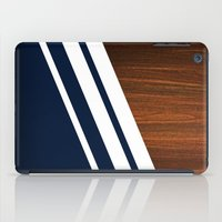 Wooden Navy iPad Case