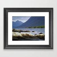 Loch Etive And Beinn Tri… Framed Art Print