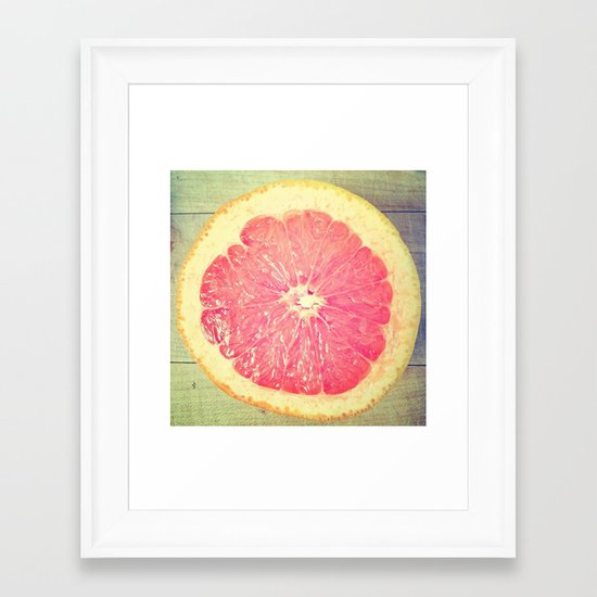 Grapefruit!  Framed Art Print