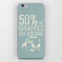 Animal Facts: Giraffe iPhone & iPod Skin