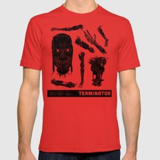 Decommissioned: Terminat… Mens Fitted Tee Red SMALL